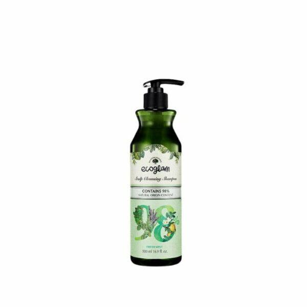 Happy Shop   ecoglam shampoo 500ml mint